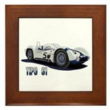 Cute Dan gurney Framed Tile