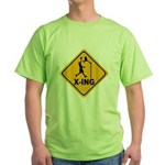 Basketball X-ing Green T-Shirt