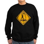 Basketball X-ing Sweatshirt (dark)