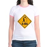 Basketball X-ing Jr. Ringer T-Shirt