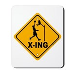 Basketball X-ing Mousepad