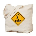 Basketball X-ing Tote Bag