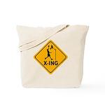 Basketball X-ing Tote Bag