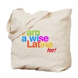 Tote Bag bolsa wise latina sonia sotomayor