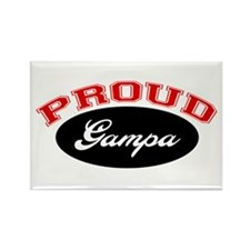 Proud Gampa Rectangle Magnet (10 pack)