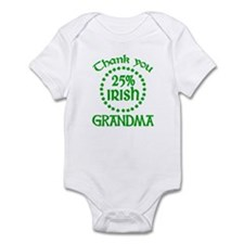 25% Irish - Grandma Infant Bodysuit