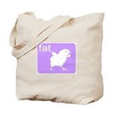 FAT CHICK Tote Bag