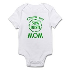 50% Irish - Mom Infant Bodysuit