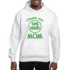 50% Irish - Mom Hoodie