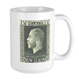 New Zealand 1915 KGV Coffee Mug