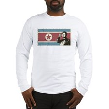 Vintage North Korea Long Sleeve T-Shirt