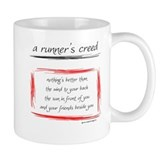 A Runner's Creed Small Mug