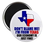 "I'm From Texas 2.25"" Magnet (10 pack)"