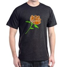 Football Rose - Black