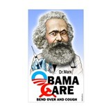 Obama Care - Dr. Marx Rectangle Decal