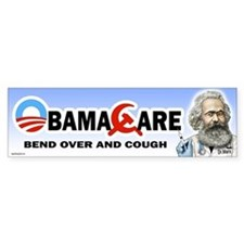 Obama Care - Dr. Marx Bumper Bumper Sticker