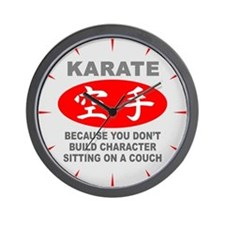 Karate Wall Clock