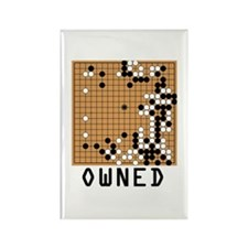 Shuusaku Go Pwned Rectangle Magnet (100 pack)