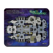 Maps of Mastery Starship Mousepad
