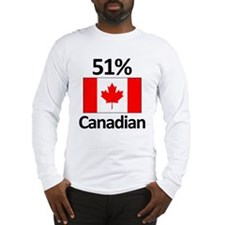 51% Canadian Long Sleeve T-Shirt