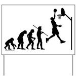 Basketball Evolution Yard Sign