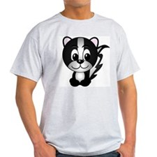 Skippy The Skunk Ash Grey T-Shirt
