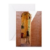 Small Doorway Greeting Card