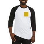 Yellow Latticework Baseball Jersey