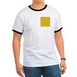 Yellow Latticework Ringer T