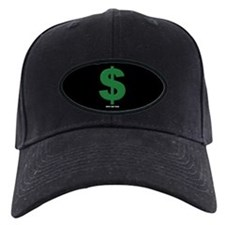 Old Green $ Baseball Hat