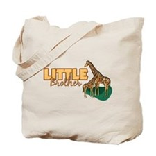 Little Brother Giraffe Tote Bag