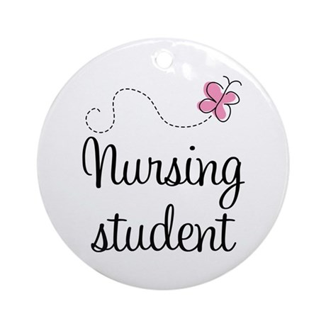 Nursing School Student Ornament (Round)