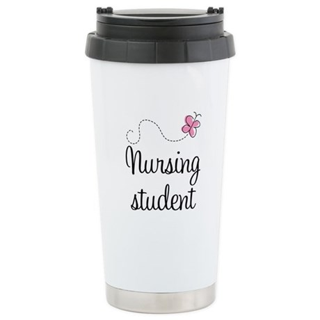 Nursing School Student Stainless Steel Travel Mug