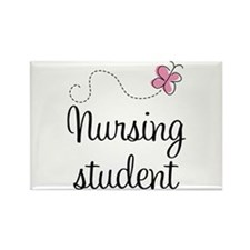 Nursing School Student Rectangle Magnet