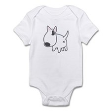 Bullterrier ILLUSTRATION - Infant Bodysuit
