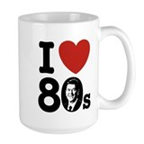 I Love The 80s Reagan Mug