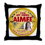 For Aimee Throw Pillow