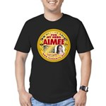 For Aimee Men's Fitted T-Shirt (dark)