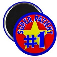 "Super Patient 2.25"" Magnet (10 pack)"