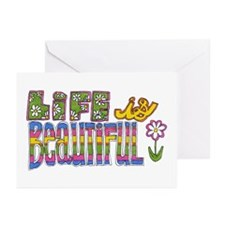 Life is Beautiful Greeting Cards (Pk of 10)