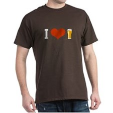 Beer - I LOVE BEER - T-Shirt