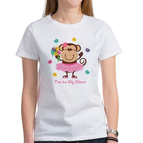 Monkey Big Sister Women's T-Shirt