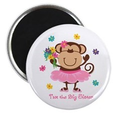 Monkey Big Sister Magnet