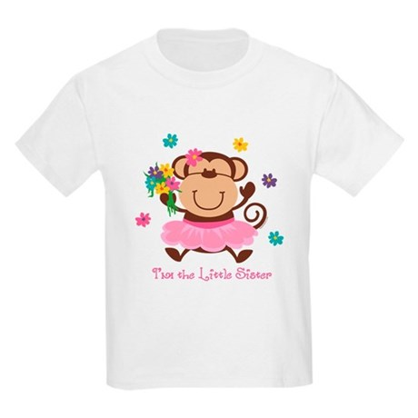 Monkey Little Sister Kids Light T-Shirt