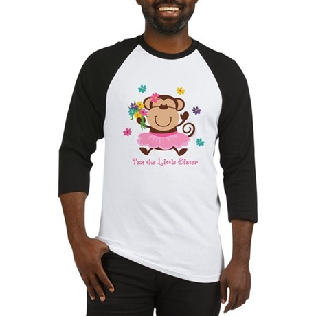 Monkey Little Sister Baseball Jersey