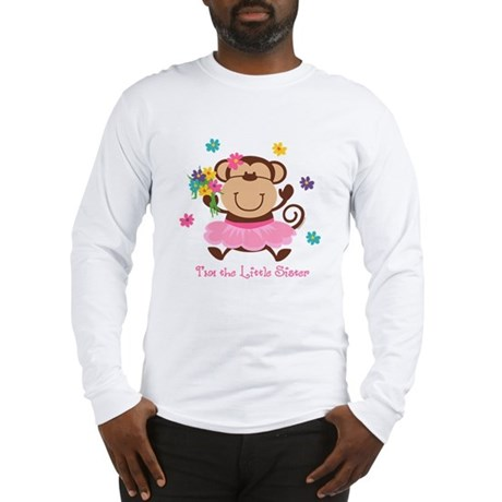 Monkey Little Sister Long Sleeve T-Shirt