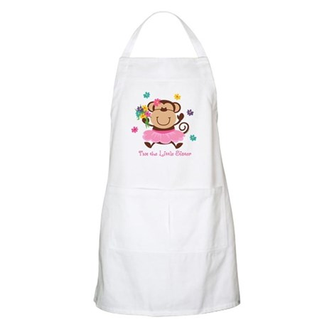 Monkey Little Sister BBQ Apron