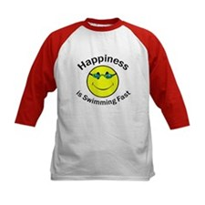 Happiness is Swimming Fast Tee