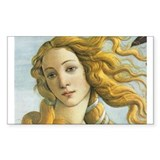 The Birth of Venus Rectangle Sticker 10 pk)