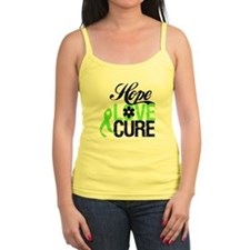 Lymphoma HOPE LOVE CURE Jr.Spaghetti Strap